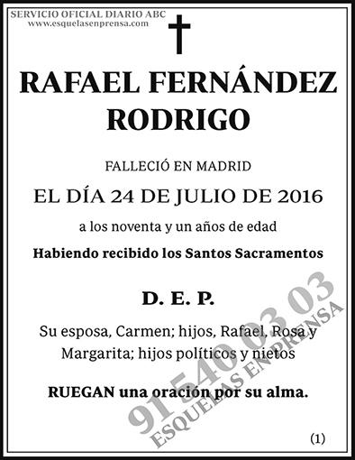 Rafael Fernández Rodrigo
